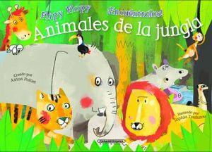 ANIMALES DE LA JUNGLA -ENCUENTRALOS-      (EMPASTADO)