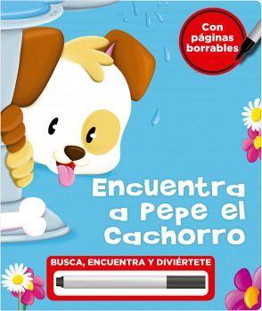 ENCUENTRA A PEPE EL CACHORRO              (EMPASTADO/C/PLUMON)