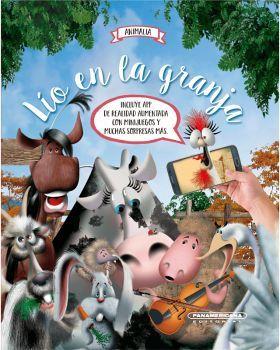 LIO EN LA GRANJA -ANIMALIA-               (EMPASTADO)