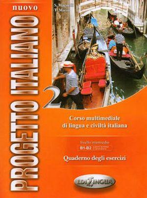 NUOVO PROGETTO ITALIANO 2 B1-B2 QUADERNO DEGLI ESERCIZI C/2 CDS