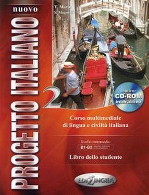 NUOVO PROGETTO ITALIANO 2 B1-B2 LIBRO DELLO STUDENTE C/CD