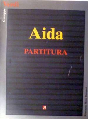 AIDA   (PARTITURA)