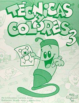 TECNICAS Y COLORES 3RO. PREESCOLAR