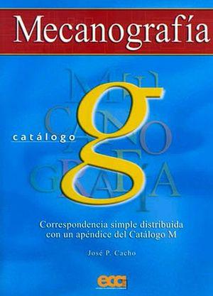 MECANOGRAFIA CATALOGO G