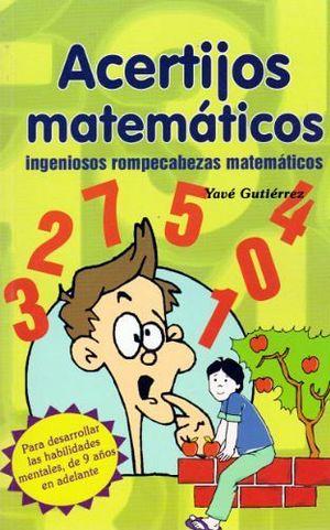 ACERTIJOS MATEMATICOS -LB-  (HIDRO)