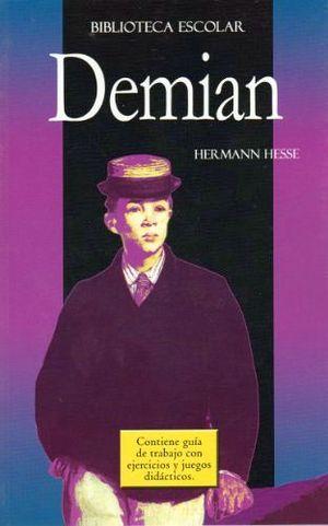 DEMIAN   -BIB.ESCOLAR C/GUIA DE TRAB./LB-  (HIDRO)
