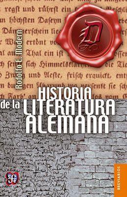 HISTORIA DE LA LITERATURA ALEMANA (BREVIARIOS)