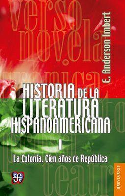 HISTORIA DE LA LIT. HISPANOAMERICANA I (RUSTICO)    BREVIARIO
