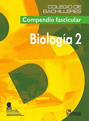 BIOLOGIA 2DO.   (COBACH) -COMPENDIO FASICULAR-