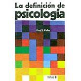 DEFINICION DE PSICOLOGIA 2ED.
