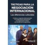 TACTICAS PARA LA NEGOCIACION INTERNACIONAL 2ED.