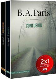 PAQUETE B.A. PARIS (C/2 LIBROS) -CONFUSION/QUEDATE CONMIGO-