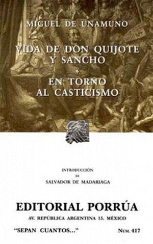 417 VIDA DE DON QUIJOTE Y SANCHO