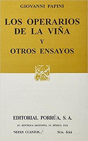 644 LOS OPERARIOS DE LA VIÑA Y OTROS ENSAYOS