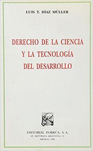 DERECHO DE LA CIENCIA Y LA TECNOLOGIA DEL DESARROLLO