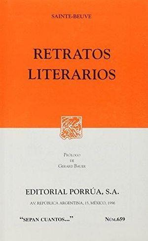 659 RETRATOS LITERARIOS