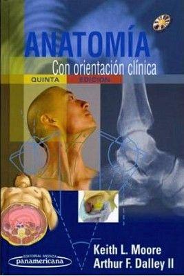 ANATOMIA CON ORIENTACION CLINICA 5ED. C/CD