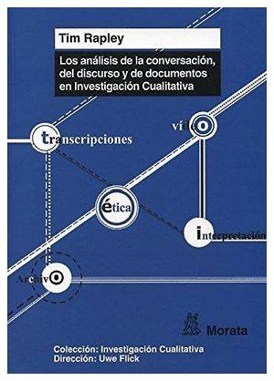 ANALISIS DE LA CONVERSACION, DEL DISCURSO Y DE DOCUMENTOS EN INV.