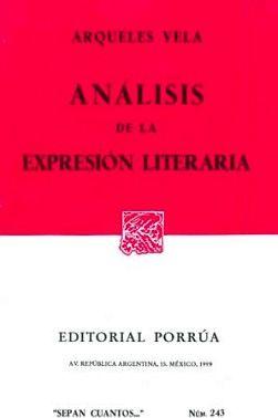 243 ANALISIS DE LA EXPRESION LITERARIA