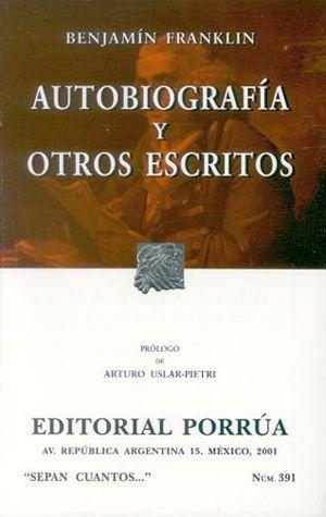 391 AUTOBIOGRAFIA Y OTROS ESCRITOS