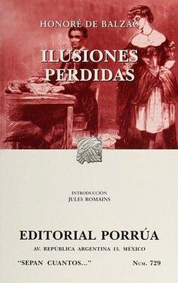 729 ILUSIONES PERDIDAS RUSTICO