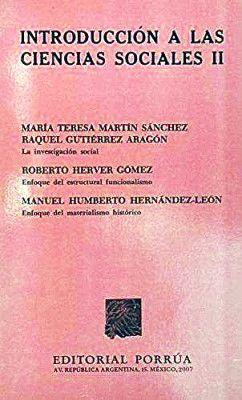 INTRODUCCION A LAS CIENCIAS SOCIALES II
