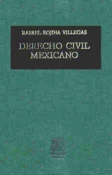 DERECHO CIVIL MEXICANO TOMO 6 VOL. 2