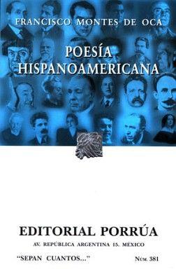 381 POESIA HISPANOAMERICANA