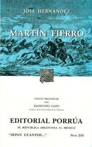 216 MARTIN FIERRO