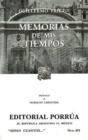 481 MEMORIAS DE MIS TIEMPOS