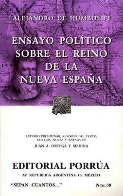 039 ENSAYOS POLITICOS SOBRE EL REINO DE LA NUEVA ESPAÑA