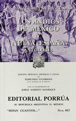 057 INDIOS DE MEXICO Y NUEVA ESPAÑA