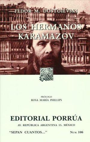 106 HERMANOS KARAMAZOV                    (2 PRESENTACIONES)