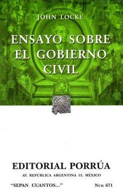 671 ENSAYO SOBRE EL GOBIERNO CIVIL