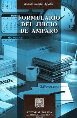 FORMULARIO DEL JUICIO DE AMPARO