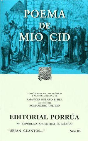 085 POEMA DEL MIO CID