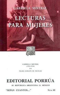 068 LECTURAS PARA MUJERES
