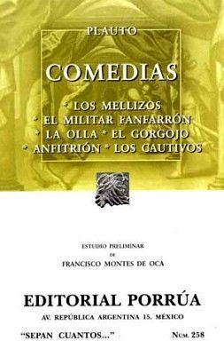 258 COMEDIAS (LOS MELLIZOS, EL MILITAR FANFARRON)