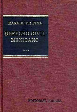 DERECHO CIVIL MEXICANO 3 OBLIGACIONES CIVILES