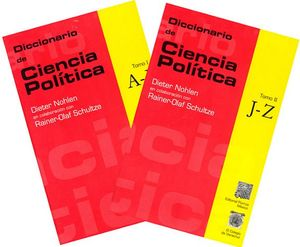DICCIONARIO DE CIENCIA POLITICA 2 TOMOS