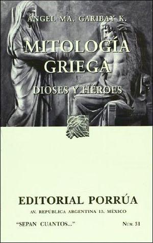 031 MITOLOGIA GRIEGA