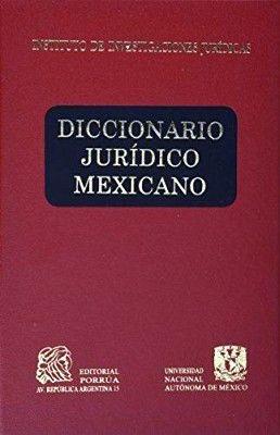 DICCIONARIO JURIDICO MEXICANO        (4 TOMOS/EMPASTADO)