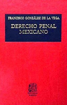 DERECHO PENAL MEXICANO (TELA)