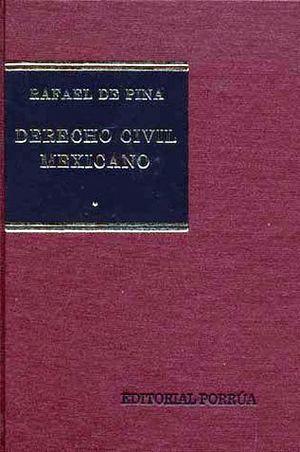 DERECHO CIVIL MEXICANO TOMO 1 INTRODUCCION Y PERSONAS