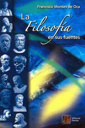 FILOSOFIA EN SUS FUENTES, LA  (NVA. PRESENTACION)        -AZUL-