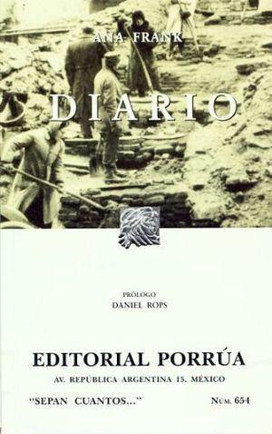 654 DIARIO DE ANA FRANK