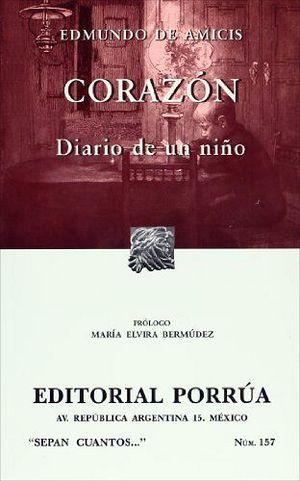 157 CORAZON. DIARIO DE UN NIÑO