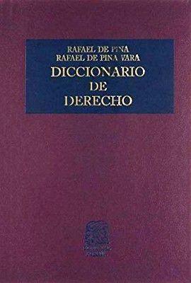DICCIONARIO DE DERECHO               (TELA)