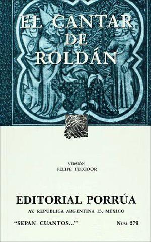 279 EL CANTAR DE ROLDAN