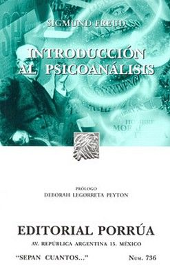 736 INTRODUCCION AL PSICOANALISIS
